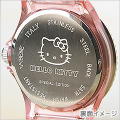 2009 Hello Kitty Collector Edition Swarovski Crystal Encrusted Watch Back