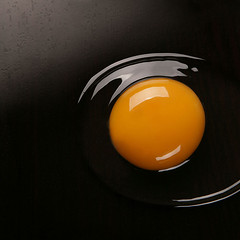 OvO (Francesco Bartaloni) Tags: italy food yellow table florence italia egg eggs firenze riflessi cibo tabletop uovo gallina nostrobistinfo bartaloni francescobartaloni frankbb catchycolorsyellowblack ccpb1208