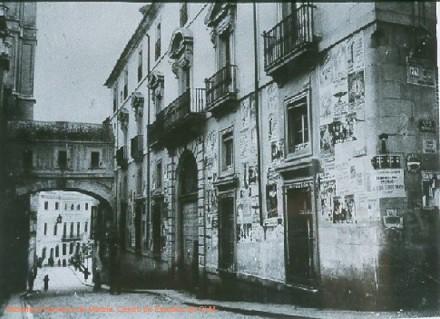 Arco de la Sangre en 1936