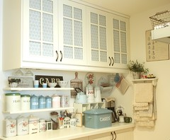kitchen cabinet blinds (cottonblue) Tags: pink blue roses white house green ar