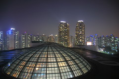Night View From Lotte World Hotel. Seoul Korea (grinfil) Tags: night hotel korea seoul lotteworld
