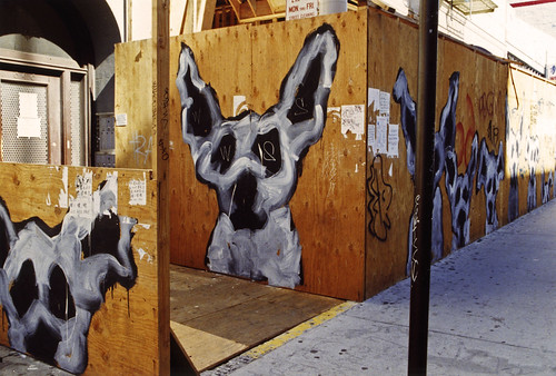 1990s Dog graffiti 13