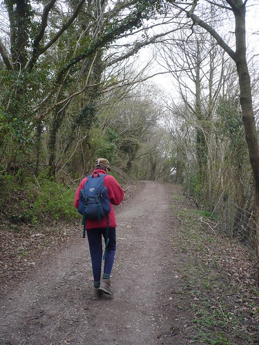 Finishing the Offa's Dyke Path ~ April 2010