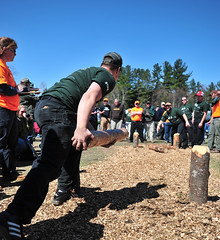 Paul Smith's Hosts STIHL TIMBERSPORTS Collegiate Challenge (The O