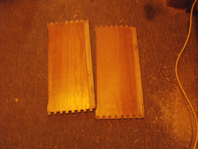 "A couple of Oak drawer sides from my ""Private Stock""..."