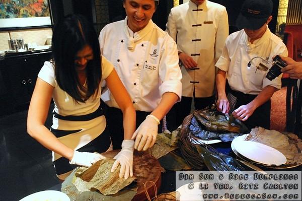 Dim Sum N Rice Dumplings At Li Yen Ritz Carlton-19