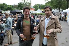 Kristoffer Røed og Ricky Sookermany har sikret sg smaksprøver på Øl- og Matfestivalen 2011