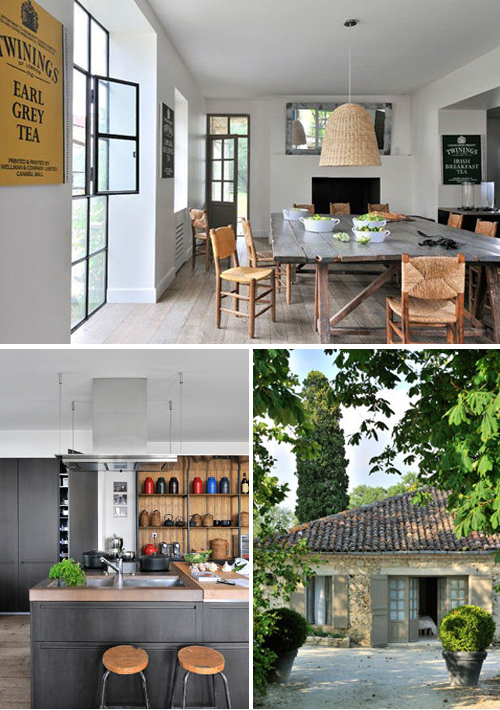 Holiday home in the south west of france the style files - Maison de campagne deco ...