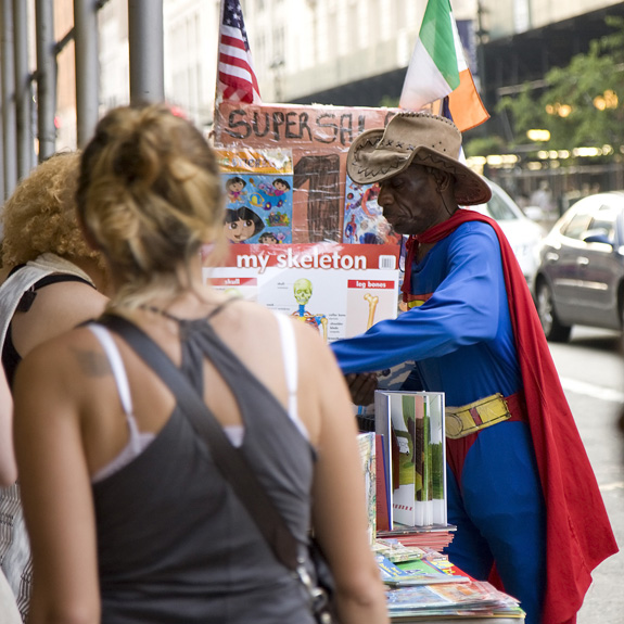 Superman, NYC