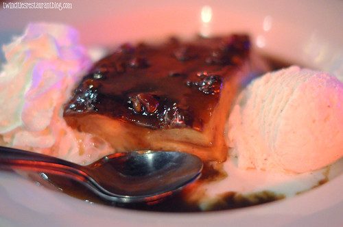 Bread Pudding at Famous Dave's BBQ & Blues ~ Minneapolis, MN