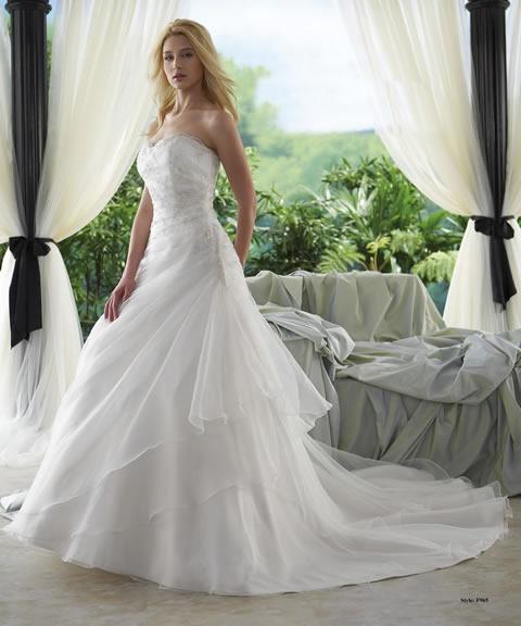 Vestidos de novia baratos-965A