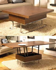 Фото 1 - Кофейный столик-трансформер