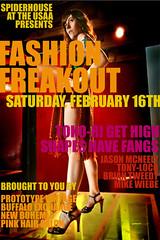 Fashion Freakout flyer (blackmoonbobo) Tags: fashion flyer teaser freakout