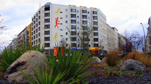 Palmwedel am Bersarinplatz - Foto: Anne Grieger