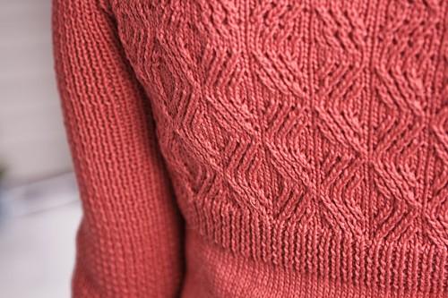 Twisted Stitch Detail