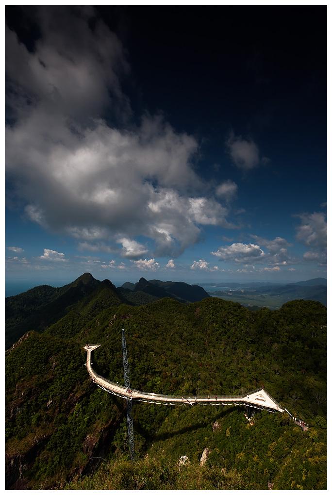 Gunung Mat Cincang Suspension Bridge