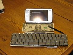 Nokia N800 + keyboard
