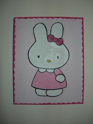 Coelhinho Hello Kitty
