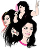 imperfect girls - Elle, Oct 2007 (pixel endo :-♥) Tags: girls portrait music film tattoo illustration pain essay elle poland pixel monthly amywinehouse endo imperfect naughtyness bethditto deathproof vanessaferlito