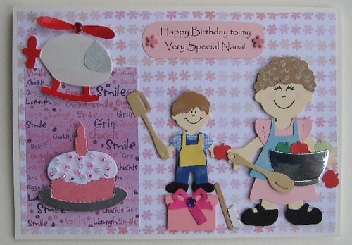 Special nana birthday card by tiptoptoppers craftjuice special nana birthday card by tiptoptoppers bookmarktalkfo Image collections