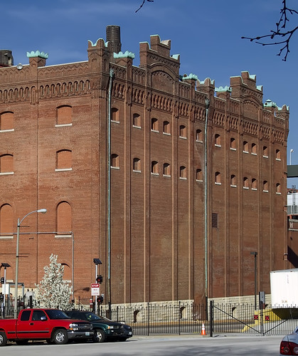 Anheuser-Busch Brewery, in Saint Louis, Missouri, USA - building 4