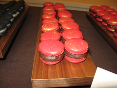 Pierre Hermé: Chocolate and Foie Gras Macaron (close up)