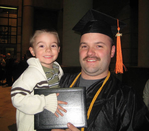 Jayson & Nick, Graduation Day