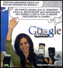 Cristina y Google