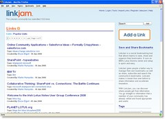 LinkJam User Interface