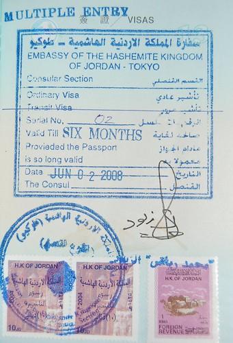 Jordan Visa