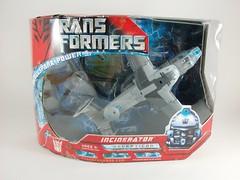 Transformer Incinerator Movie Voyager - caja