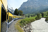 Swiss rail into the Berner Oberland