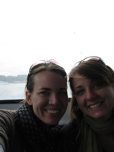 Us on a ferry
