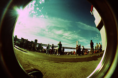 Coverfield Sky. (ThePirata) Tags: lomo tour warped fisheye pennywise 08 reelbigfish crossprosses asilaydying angelsandairwaves