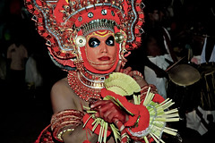 Theyyam at Kannur ! (Anoop Negi) Tags: world travel girls red portrait people india color colour men art tourism girl yellow festival painting photography for photo dance amazing eyes women essay paint place dancing image photos action body expression gorgeous indian picture culture thoughtful traditions kerala images best exotic masks human photograph hues journey classical bodypainting tradition anoop journalism negi theyyam kannur photosof cannanore ezee123 painteddancers bestphotographer imagesof anoopnegi