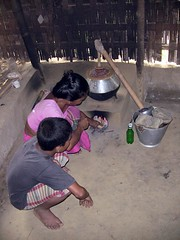 Rithanu and His Mom Make Wine (uncultured) Tags: poverty buddhist hill poor buddhism tribal tribe bangladesh chittagong malaria tracts hilltracts chittagonghilltracts malariasurvivor