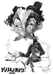 MALLARM, Stphane (Morales de los Ros) Tags: writers caricaturas philosophers caricatures escritores filsofos