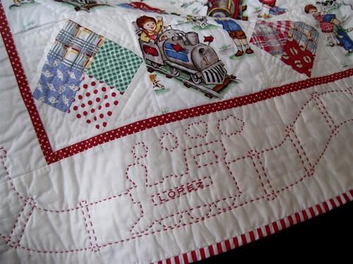 Lochie's quilt