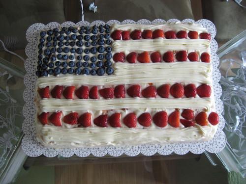 My Flag Cake
