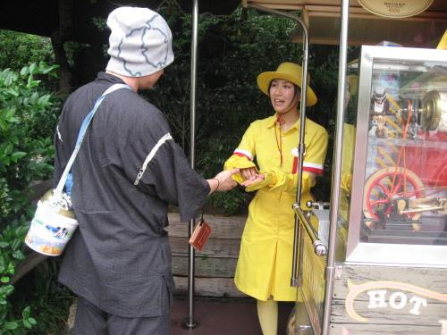 東京ディズニーランド・浴衣ゆかた