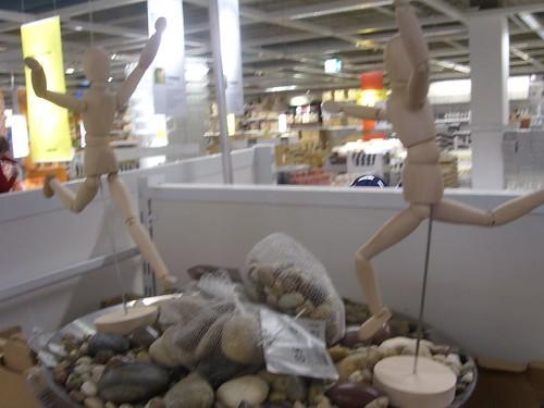 IKEA stones