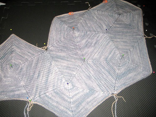 5 pentagons of the Bubble Pullover