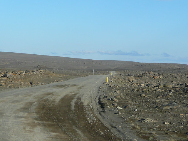 On the way to Dettifoss