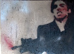 CIMG0314 (finnoola) Tags: art texture stencil power pop violence cocaine scarface violent alpacino