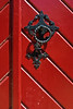Red Door (Craig Jewell Photography) Tags: door red metal gate iron closed steel entrance diagonal ornate keyhole locked craigjewellphotography