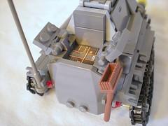 Engine Access (consular_ship) Tags: lego streetsweeper moc ramm rammtacular
