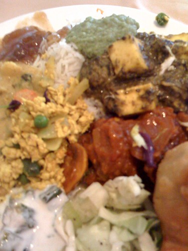 Indian Buffet food