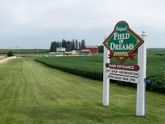 Entrance to Field of Dreams Movie Site