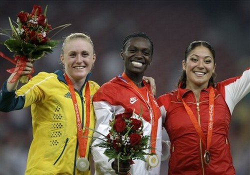 Beijing Olympics Athletics Womens 100M Hurdles