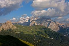 Marmolada vista da Passo Sella (starpitti) Tags: italy panorama mountain alps italia pano alpen alpi montagna sella marmolada canon1740 tentino canon40d
